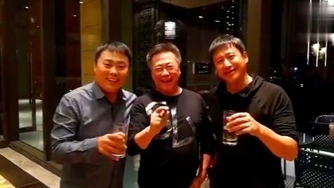 博林 刘大成 张国强相聚哈尔滨!拍戏吗?