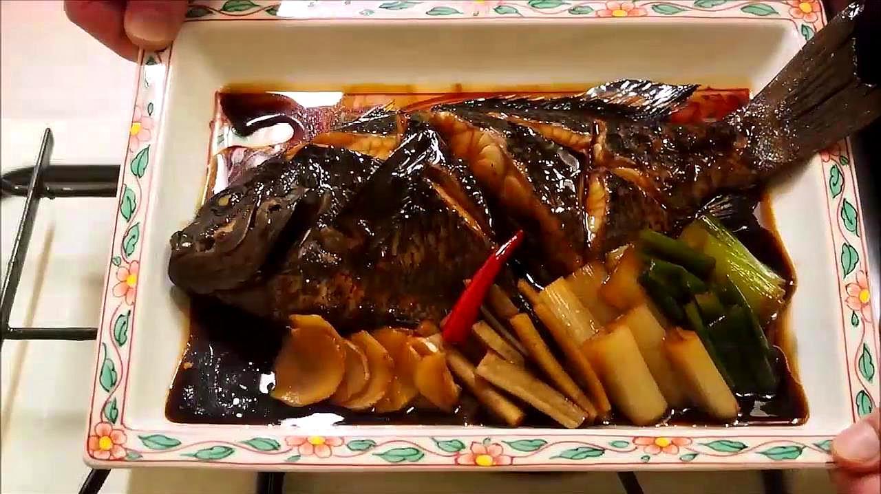 大厨教你做最正宗的日式红烧鱼