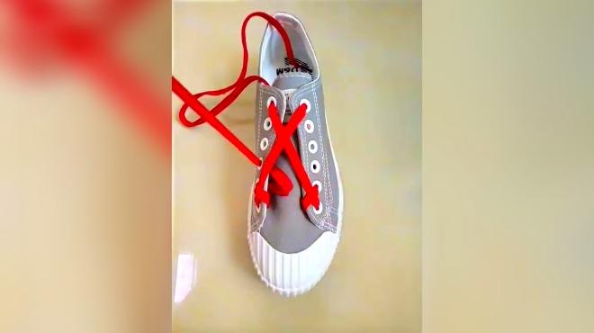 花式系鞋带 刷新你的视角