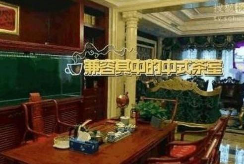 带你看看曹云金的豪宅:家里地下室就有两层,装修太豪华大气了