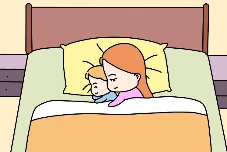 孩子睡觉有这种行为,多半是生病了,不及时治疗会影响智商和颜值