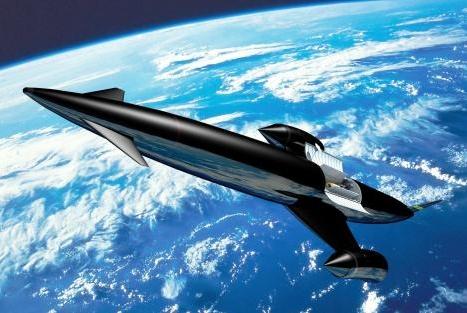 第一架空天飞机将诞生在我国?时速1万千米,导弹都追不上