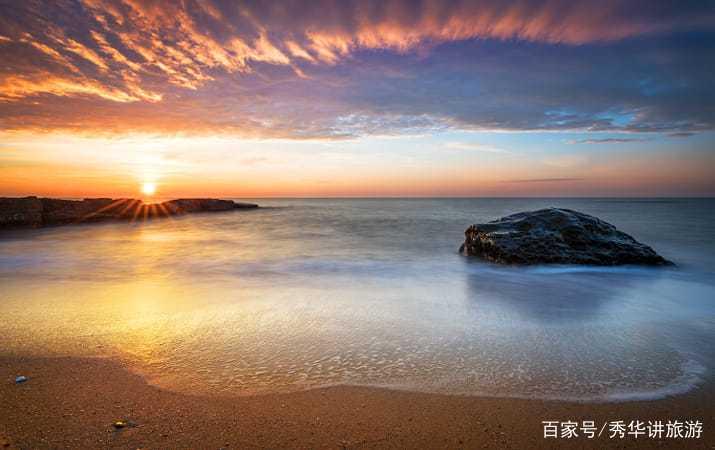 菲律宾热带岛屿惯有的碧海,蓝天,白沙,椰林,长滩岛一