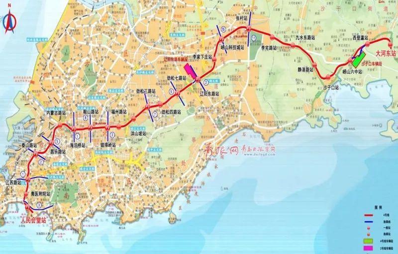 开通运营后,市民乘坐地铁通过胶州湾仅需6分钟,将为青岛东西两岸市民