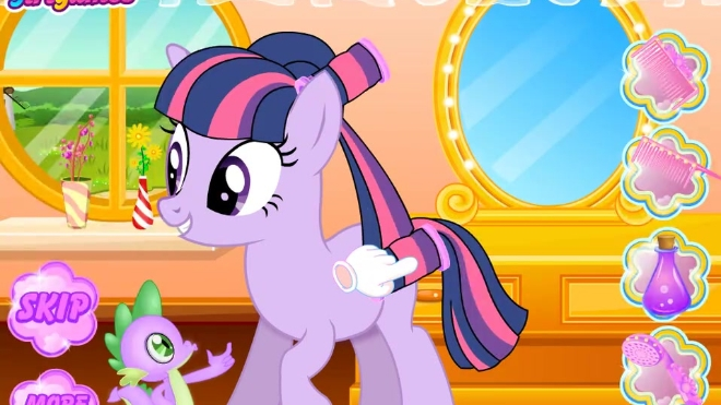 小马宝莉太阳公主想回小马堡游戏
