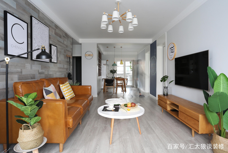 晒我100㎡新房,清新原木色简单温暖纯粹,温馨极了,客厅最喜欢