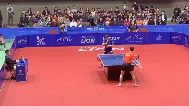 亚洲杯独家 | 张本智和:马龙硬实力很强 自己输球是能力不足