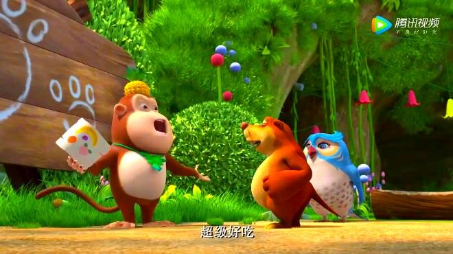 熊出没之熊熊乐园动画片《熊熊乐园》画画讲故事