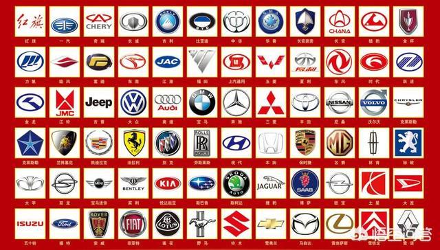 所有汽车标志你们知道哪些含义?