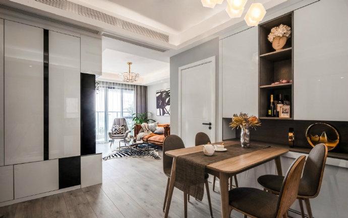 70㎡北欧混搭风格二居室,简约清新的装修设计案例!