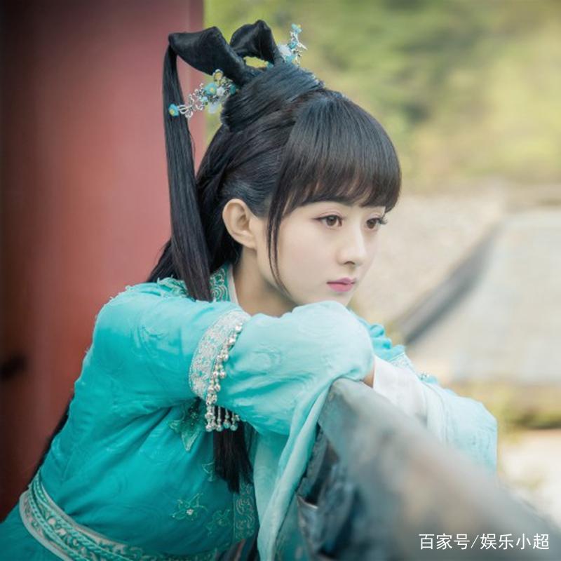 古装剧中女星齐刘海,赵丽颖可爱,唐嫣美翻了,看到郑爽
