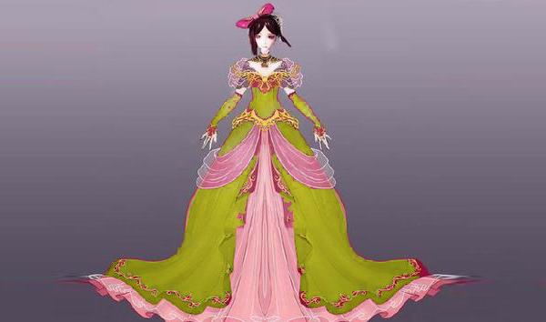 叶罗丽:当5位女神穿上金色裙子后,白光莹像公主,思思图片