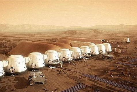 2030年代人类登陆火星!两个超级大国激烈竞争 谁能捷足先登?