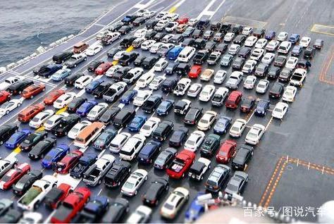 把车停到航母上,你才知道汽车有多小!