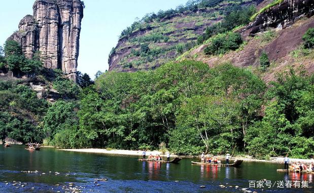 福建武夷山市地�_武夷山风景名胜区位于福建西北部武夷山市境内,是福建省唯一以名山