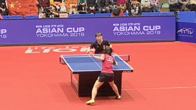 亚洲杯 | 两局领先被逆转 朱雨玲4-2险胜平野美宇晋级四强