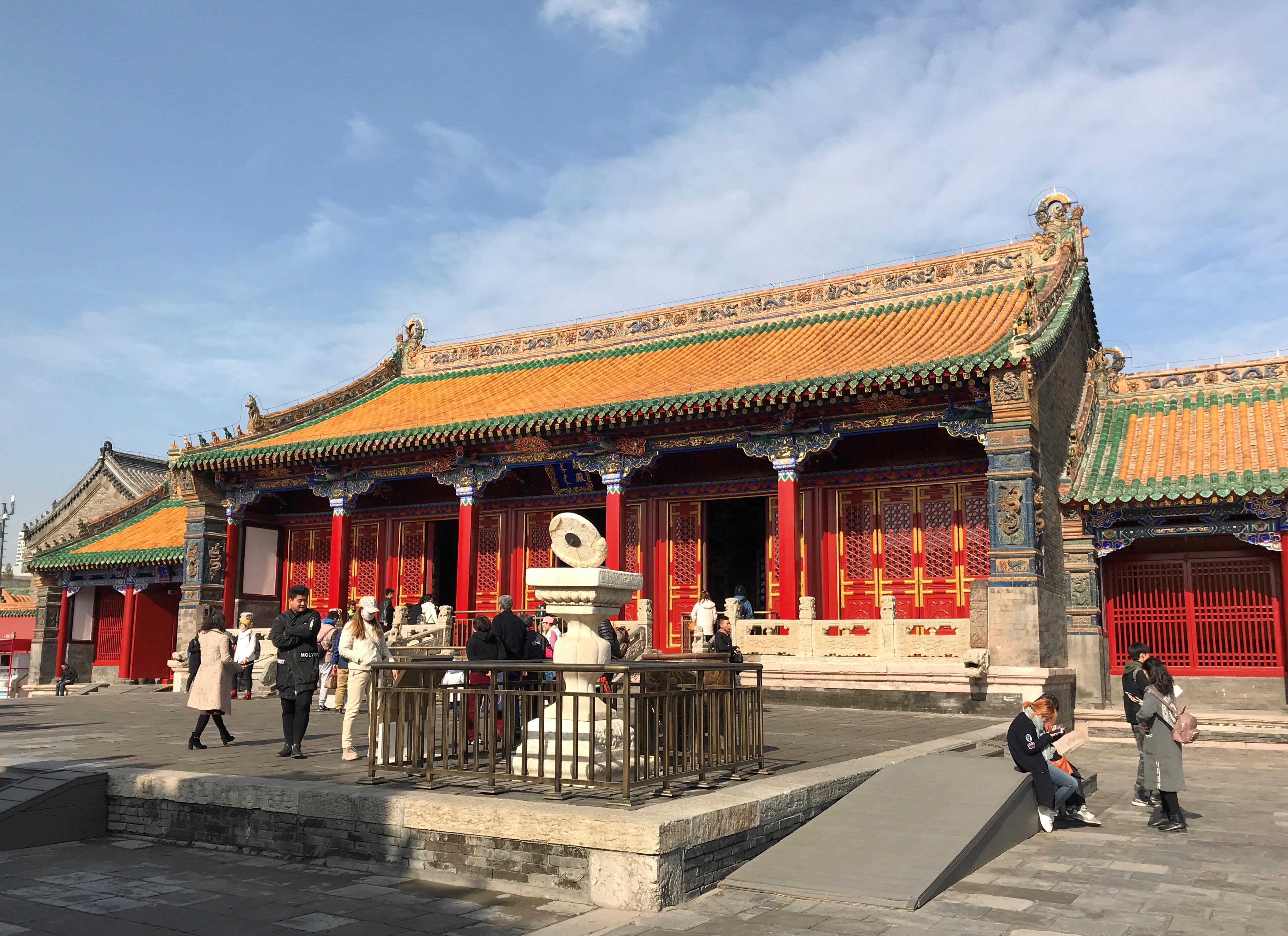 沈阳故宫之皇太极的金銮殿