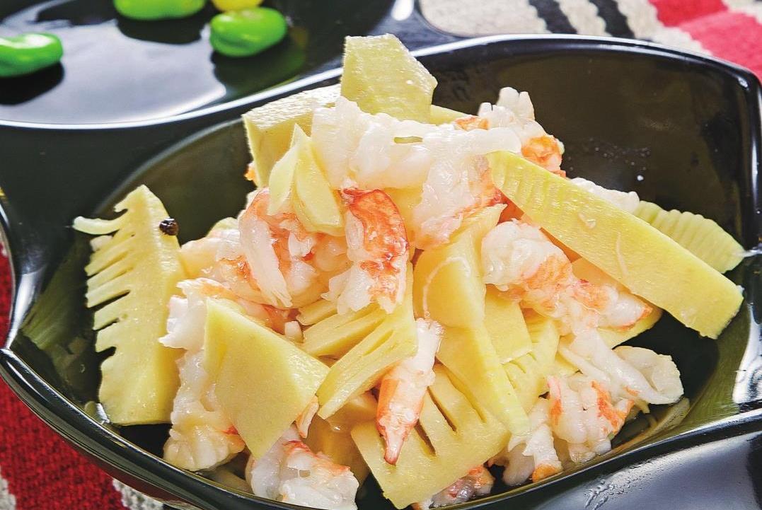 手撕虾仁鲜笋这样做最好吃,无需过多调味,这样做就足够鲜了
