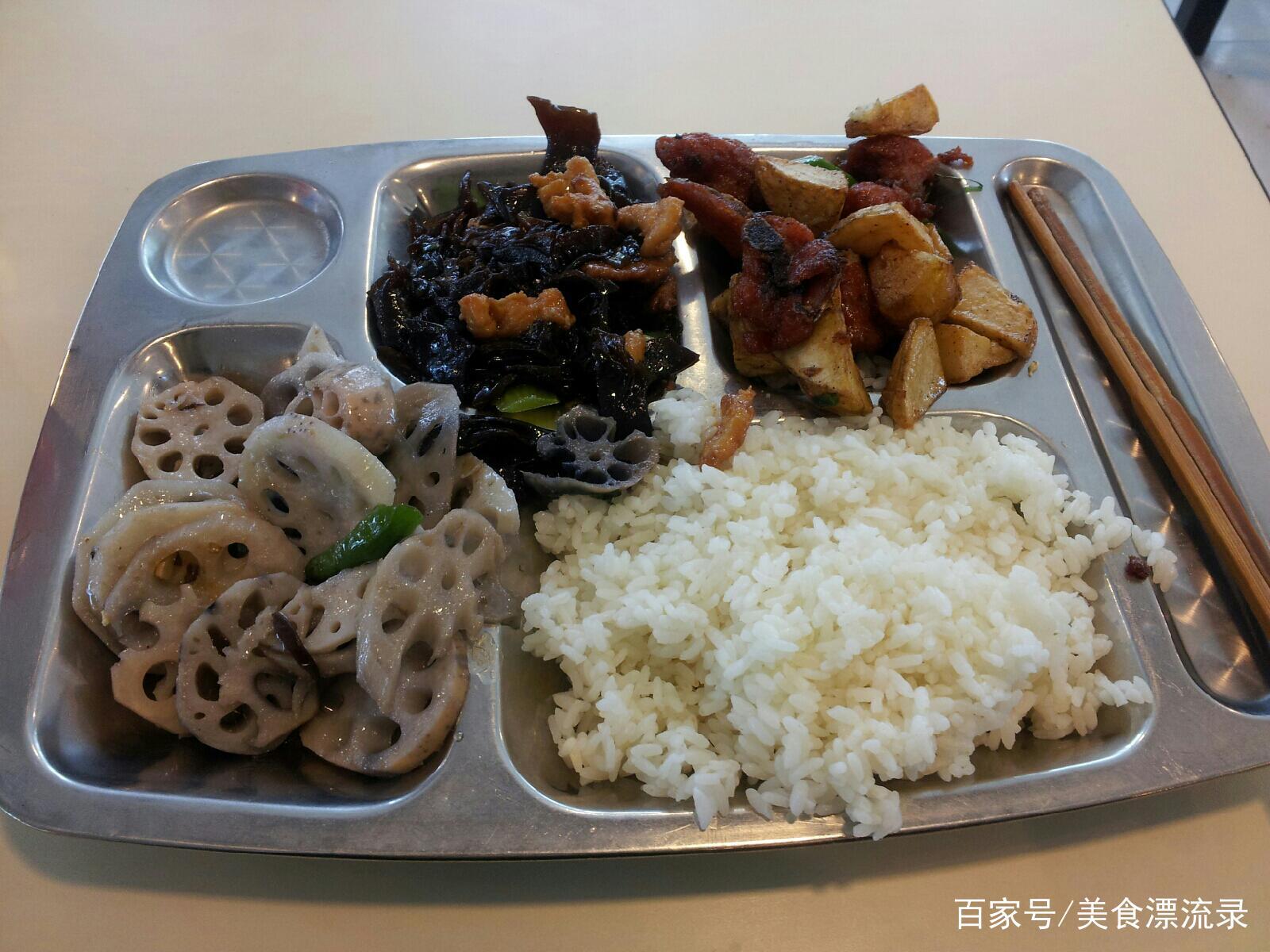美国学生的午餐,日本学生的午餐,中国学生的午餐,还是