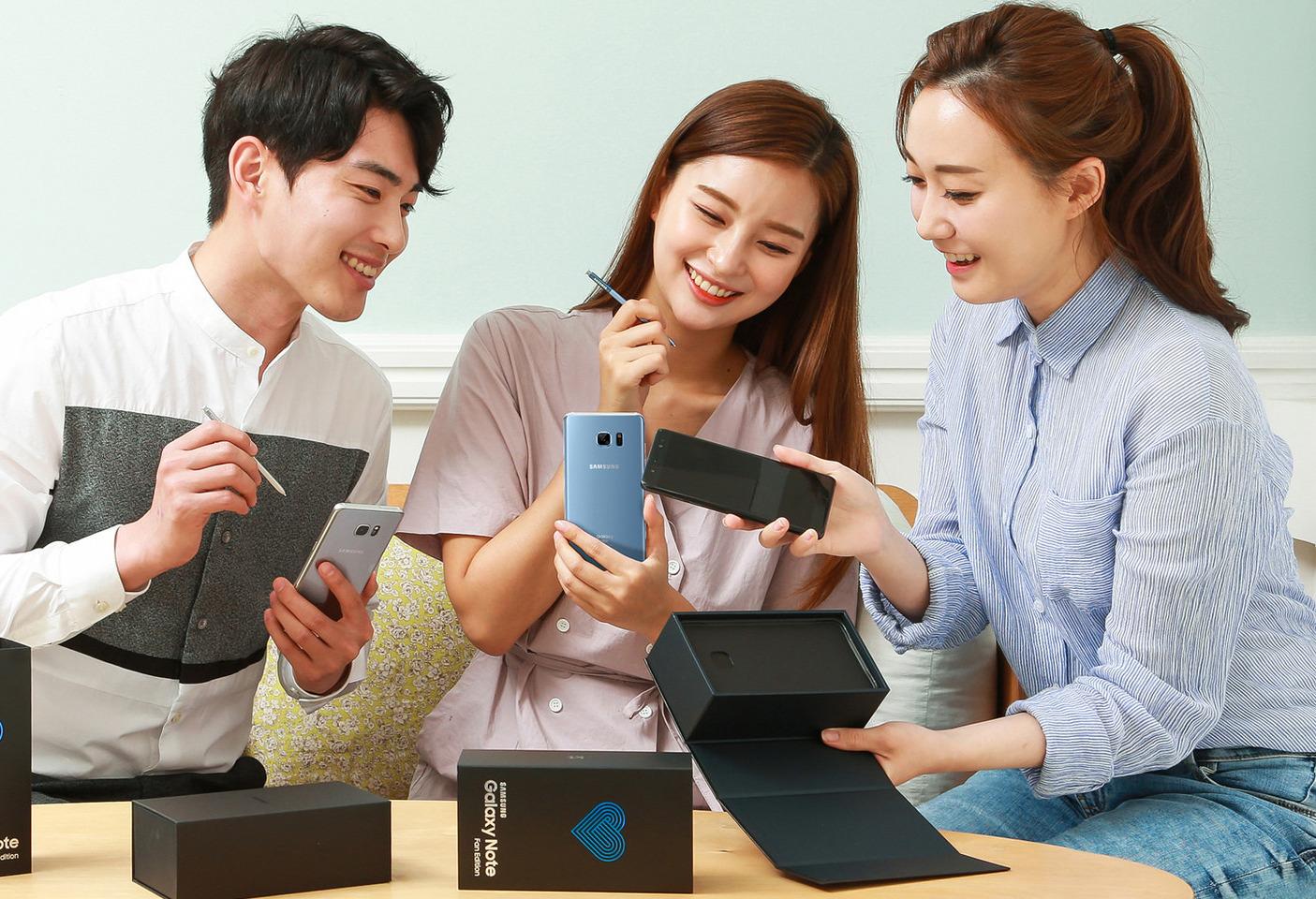 史上最快!三星公布新版安卓9.0升级名单:Note FE在内