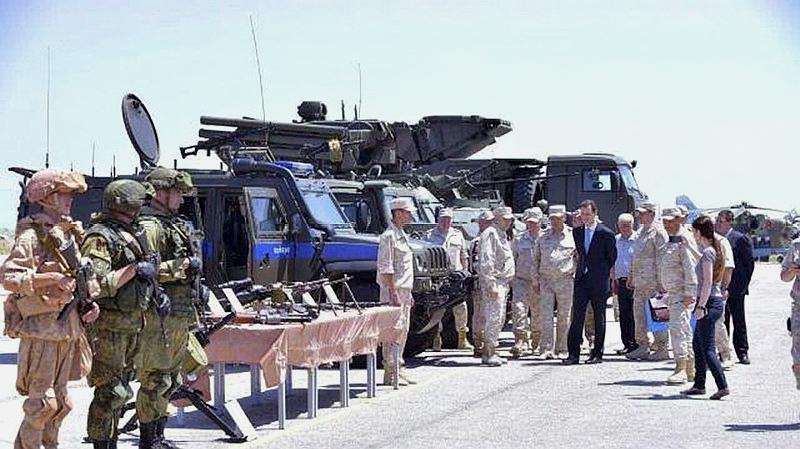 叙利亚上校被策反,家中搜出十多吨炸药