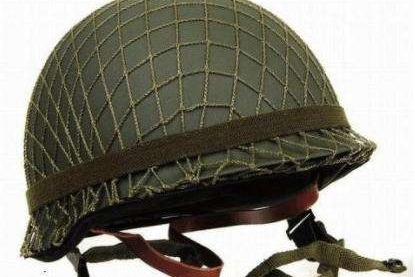 拯救20万美军性命的竟然是一顶顶罩上渔网的头盔?