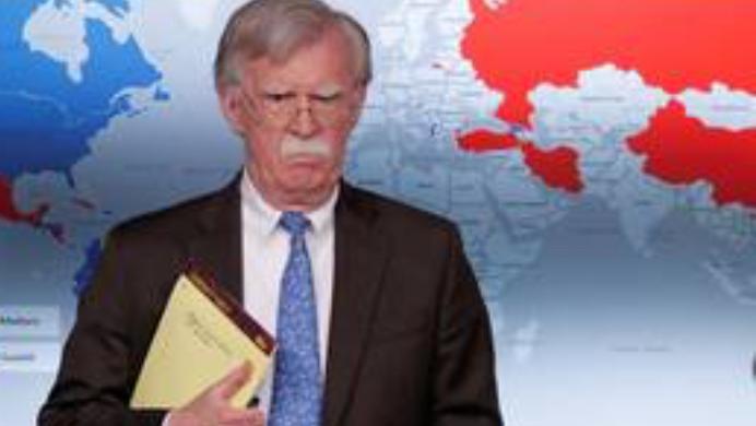 委内瑞拉最大推手约翰博尔顿表示,美国不会容忍外国干涉委国事务