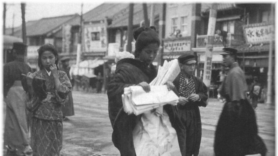 日本老照片:第2图的女子打扮时髦,第4图的女子未能当上太子妃