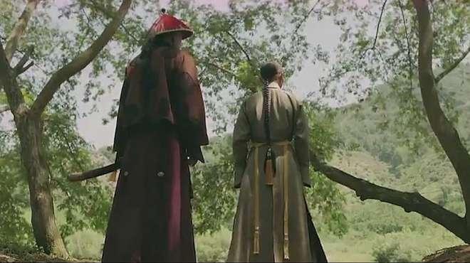 延禧攻略:到一处僻静地,皇上才告诉海兰察自己做错了一件事