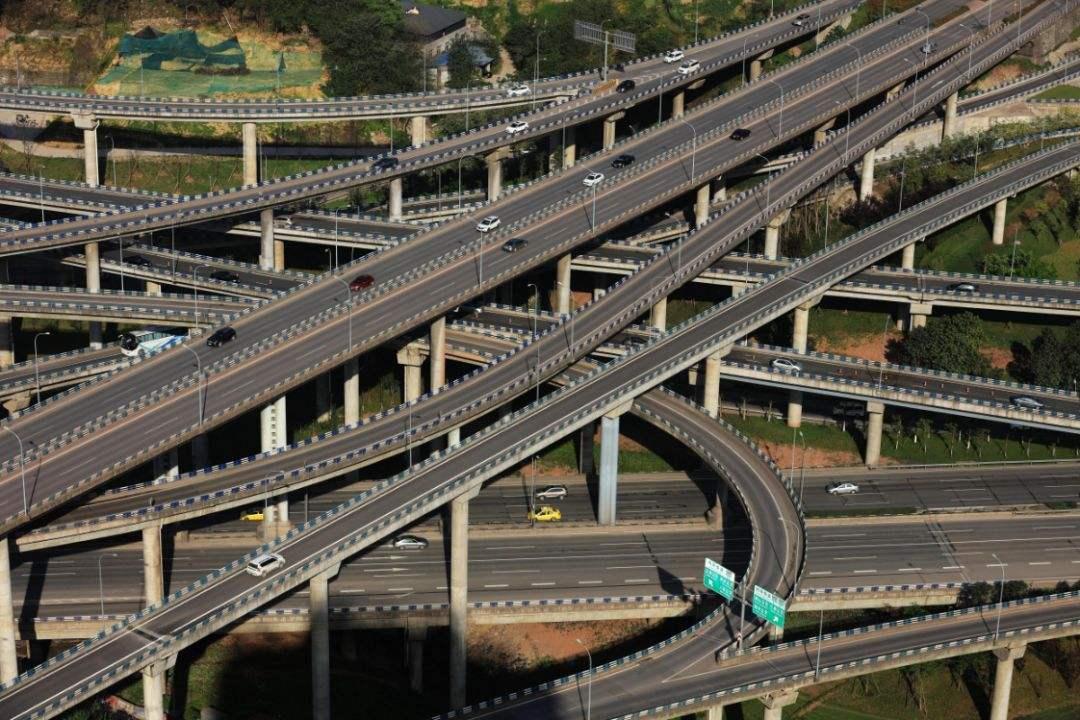重庆最复杂立交桥,如果不是本地人,可能花一天才能绕