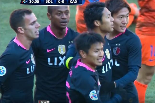 鲁能亚冠耻辱开局:遭卫冕冠军4分钟2球!王大雷表情彻底懵了