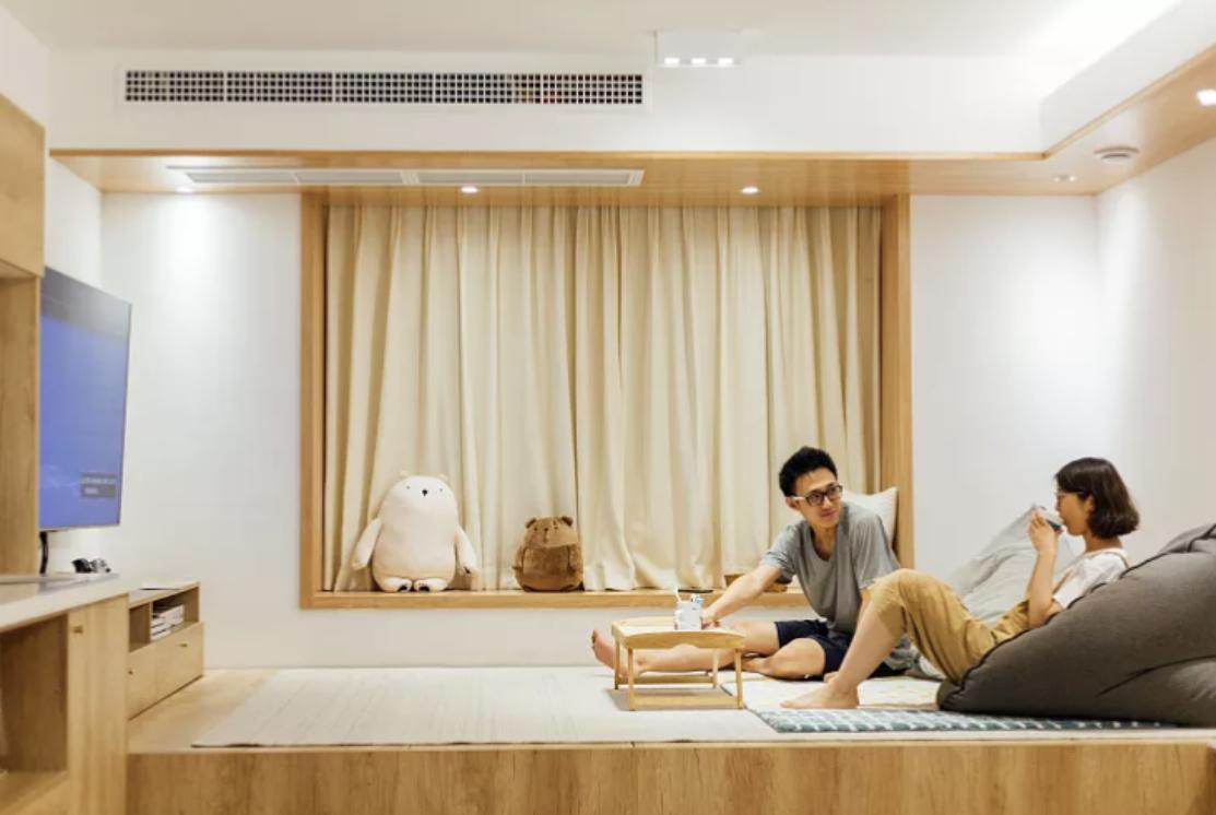"""不买沙发不买床,这对小夫妻把日系生活""""搬回家""""!朋友都羡慕"""