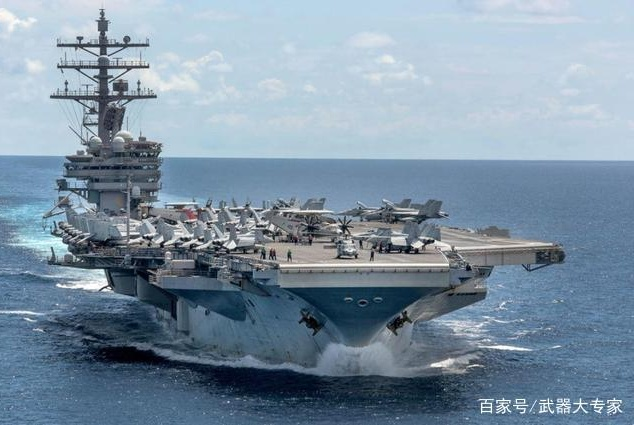 美军航母上惊现3个汉字,给世界各国敲响警钟,看上去好笑又心酸