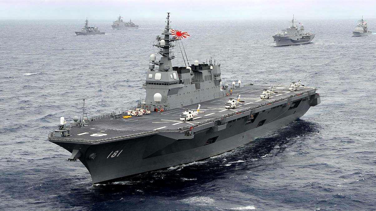 美两大盟友冲突爆发在即,都已备好航母,究竟有何矛盾无法调和?