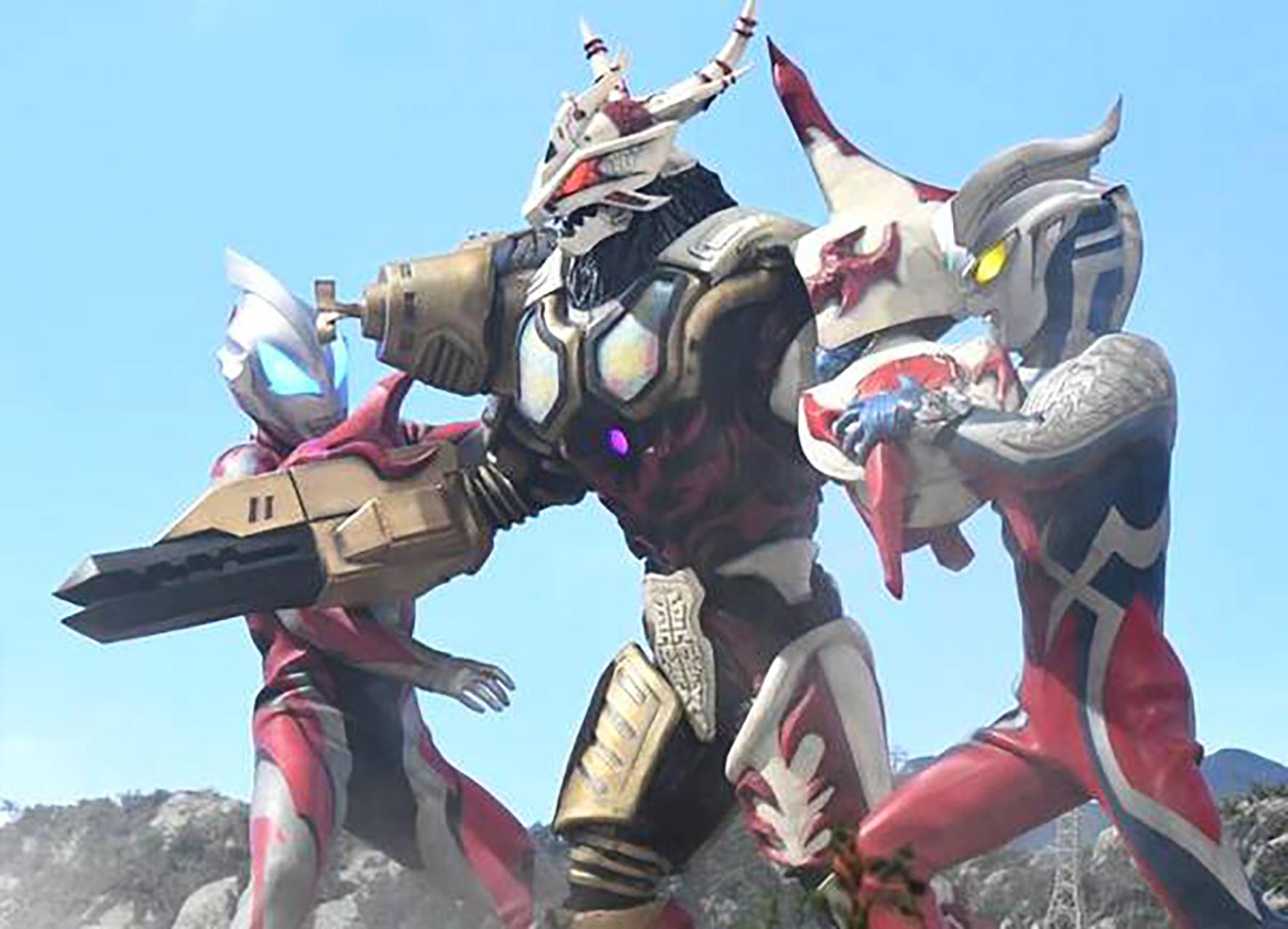 无限之主角天敌5200_三大人气怪兽的至高形态,不要以为就你们奥特曼有皮肤