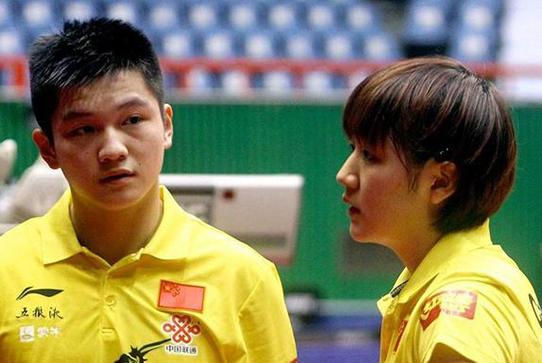 世乒赛混双不合理,两人曾被看作奥运备胎,刘国梁表示从实际出发