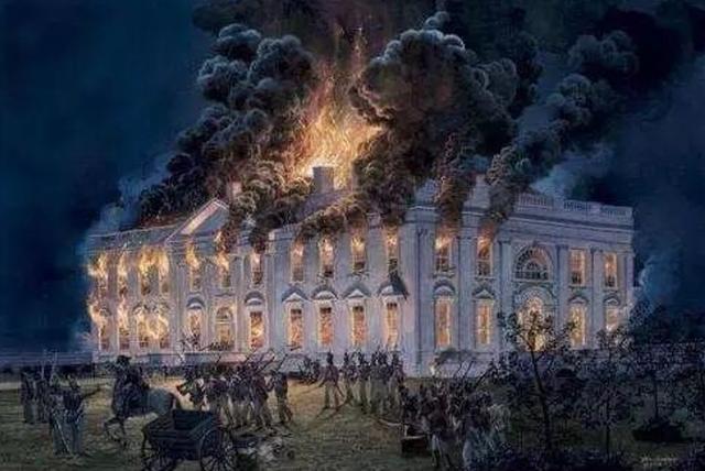 美国还曾侵略过加拿大?直接被加拿大反推,还一把火烧了白宫