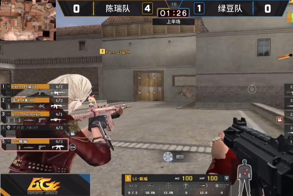 CF斗鱼枪王大奖赛:冷门枪械频频出现,EVO成选手首选