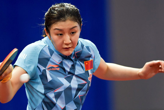 陈梦获100万奖金,父母到场见证颁奖,母亲打乒乓很厉害曾陪练