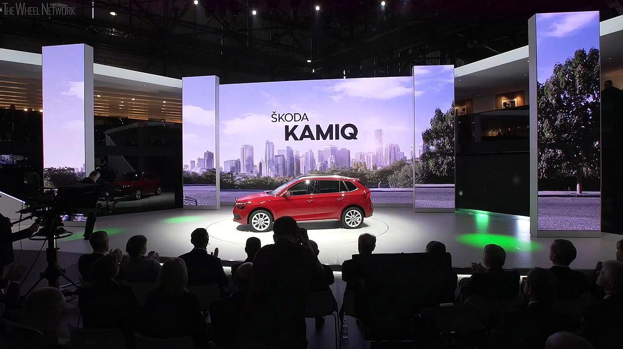 斯柯达又一小型SUV发布,车长4米2多,轴距有2米65