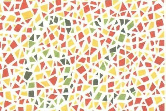 """5张色盲测试图,你能看清第四张数字""""98""""吗?看不清或许是色盲"""