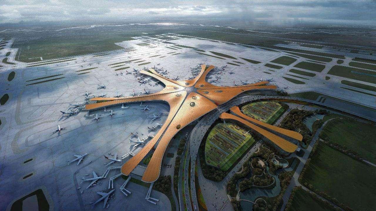 北京将建成世界最大机场:耗资1000亿,每年将服务1亿人次!