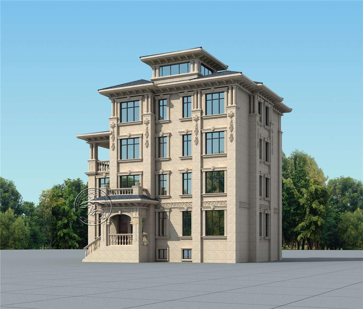 土豪配置的四层欧式别墅,健身房,书房应有尽有,还带