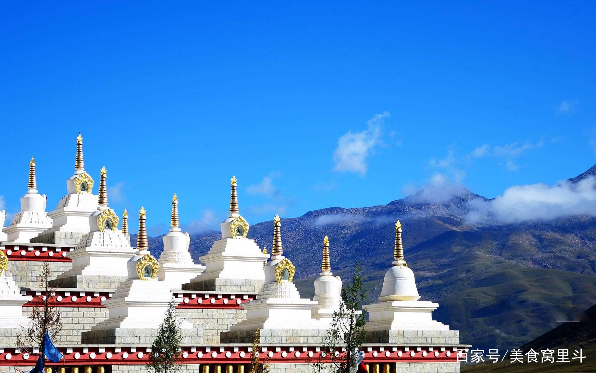 香格里拉,一个风景优美的风景区,让人心旷神怡