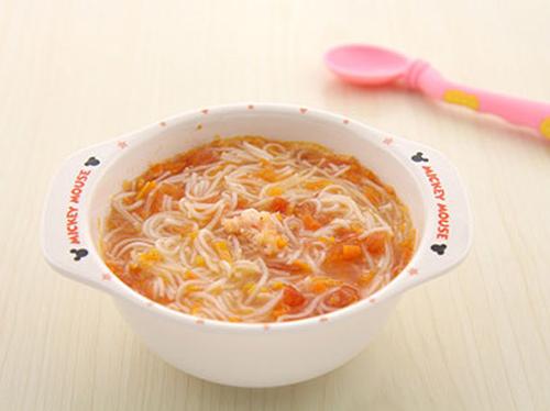 7-10个月宝宝辅食手工滋味酸甜做法开胃西红潮汕营养猪肉丸食谱图片
