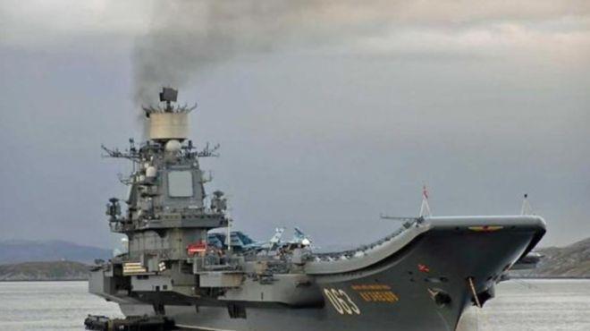 俄唯一航母即将大修,俄未来3年将面临将无航母可用!