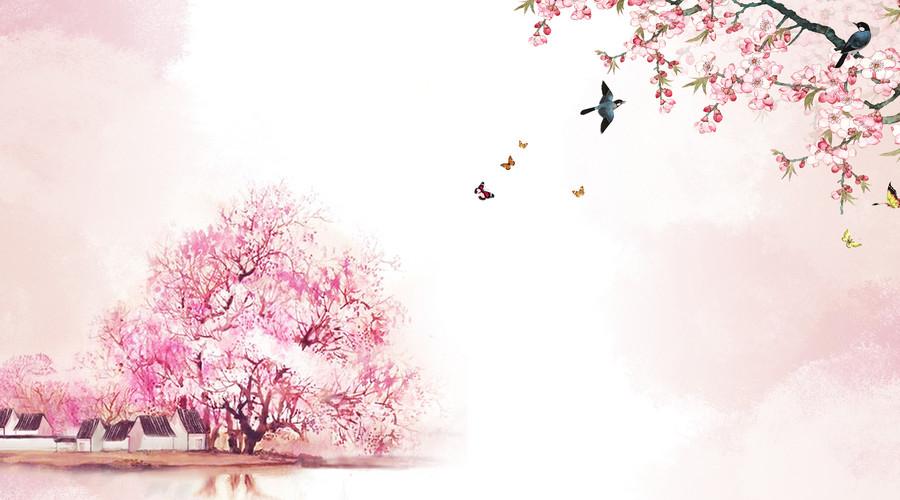 春天桃花美的古诗句,写桃花最出名的古诗词名句