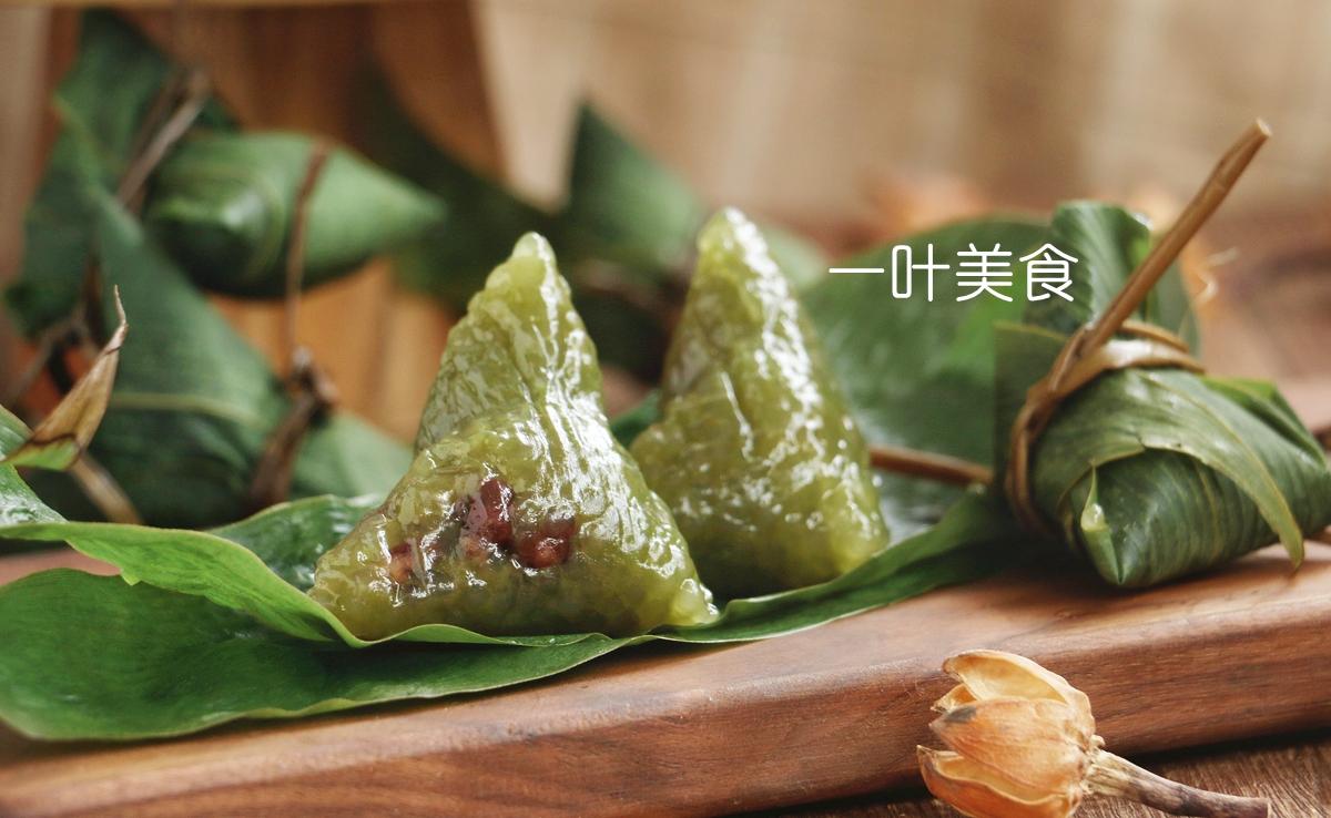 水晶西米蜜豆粽,加入一小勺它,味道太好了,附粽子包法