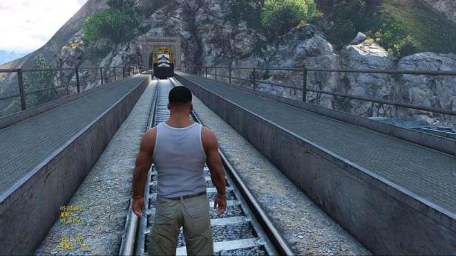 GTA5:千万不要做这样的危险动作!