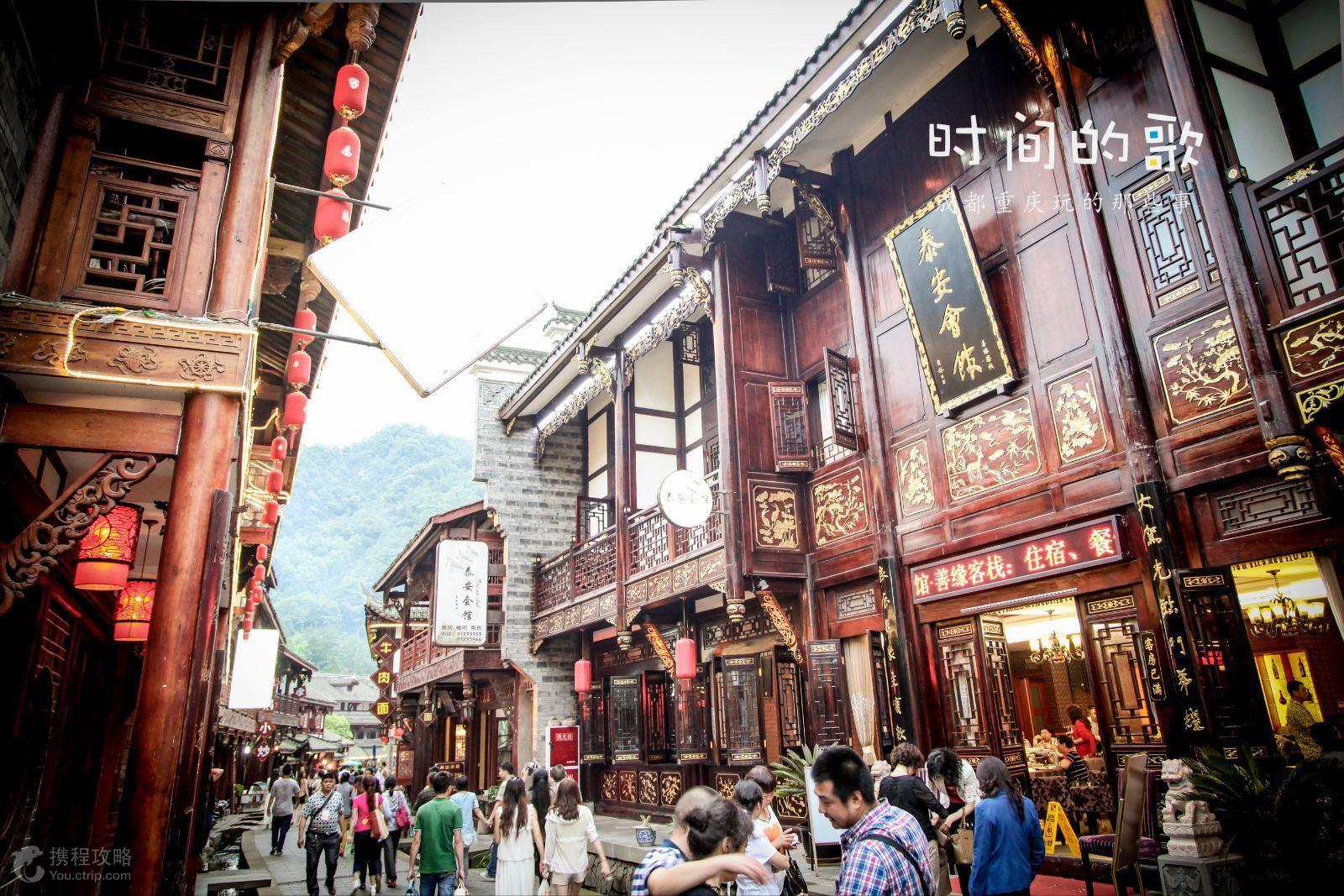 都江堰最不虚此行的几个景点,风景诱人令人陶醉!